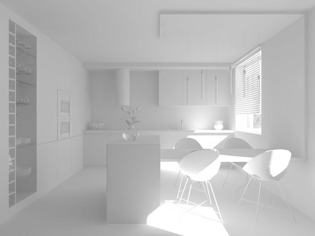 na zdjęciu widać wizualizacje 3d pomieszczenia